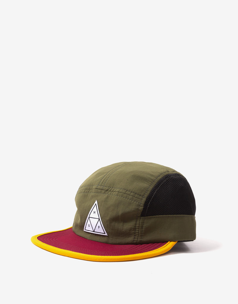 HUF Scout Side Mesh Volley Cap - Olive