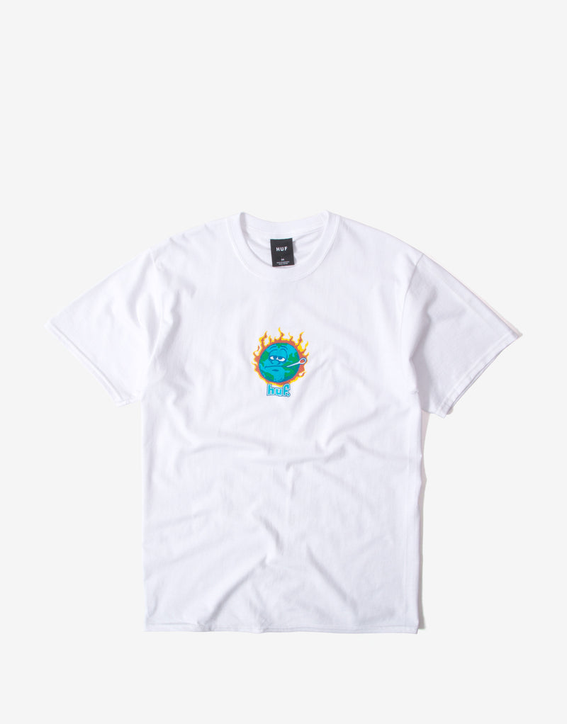 Huf Sick Sad World T Shirt - White