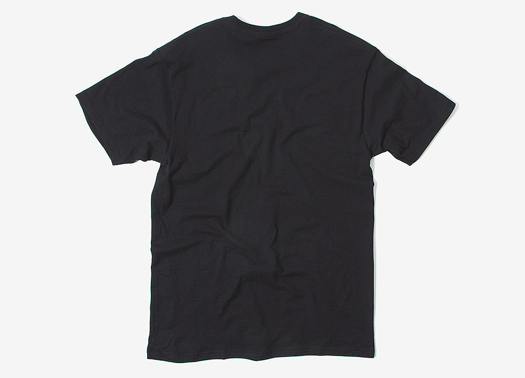 The Hundreds Words T Shirt - Black