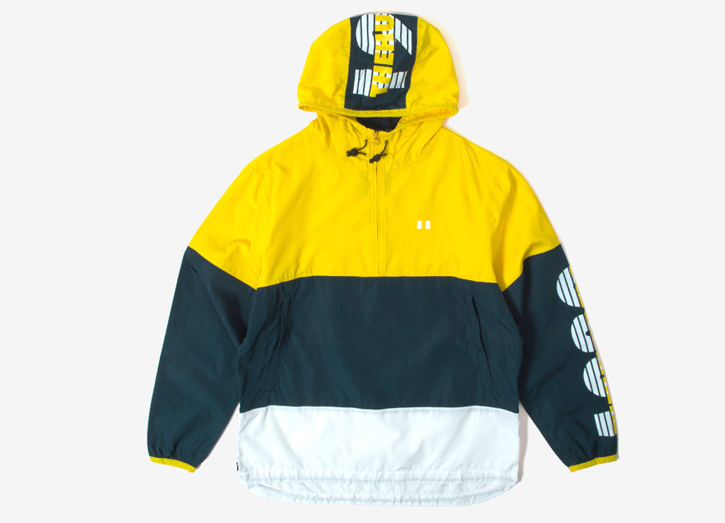 The Hundreds Overland Anorak - Yellow