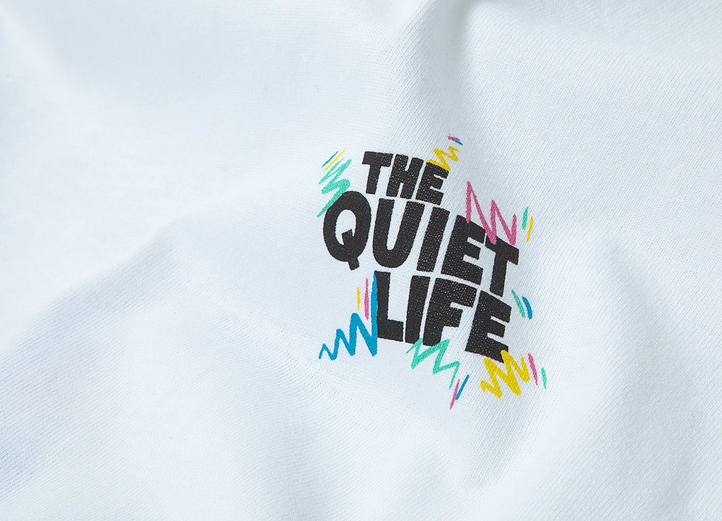 The Quiet Life Ziggity T Shirt - White