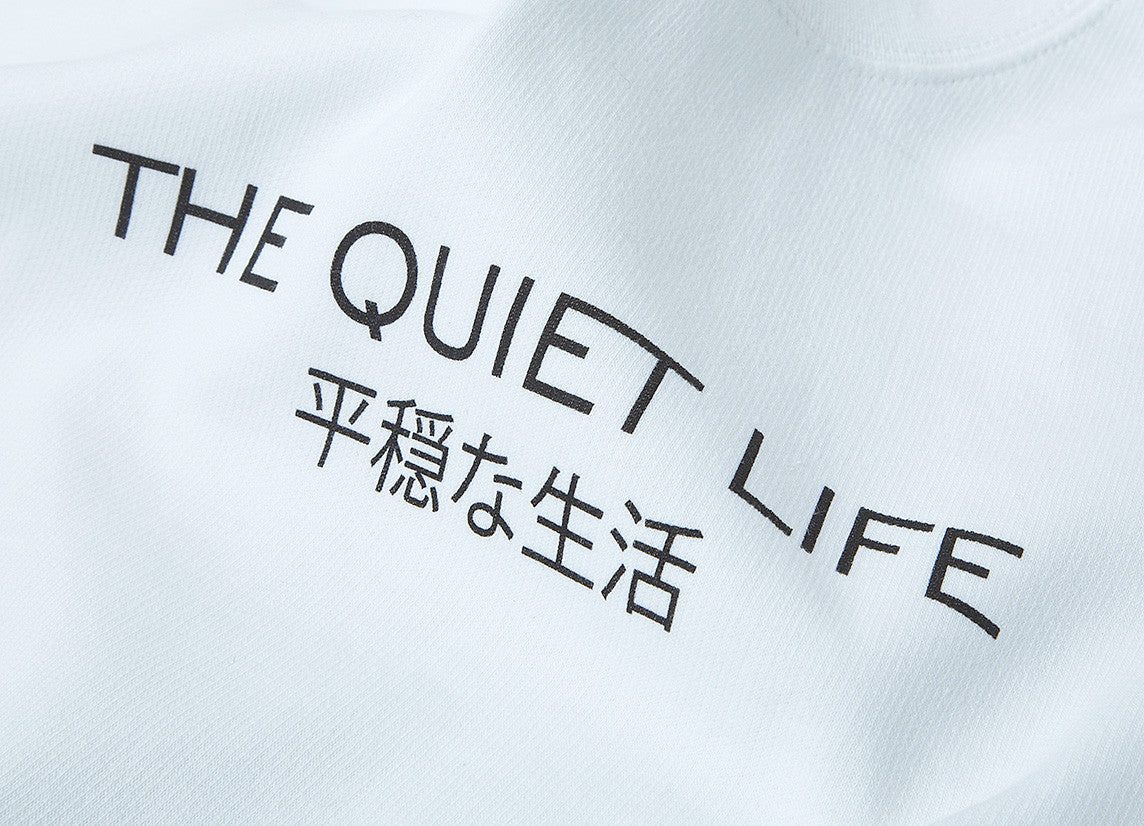 The Quiet Life Japan Crewneck Sweatshirt - White