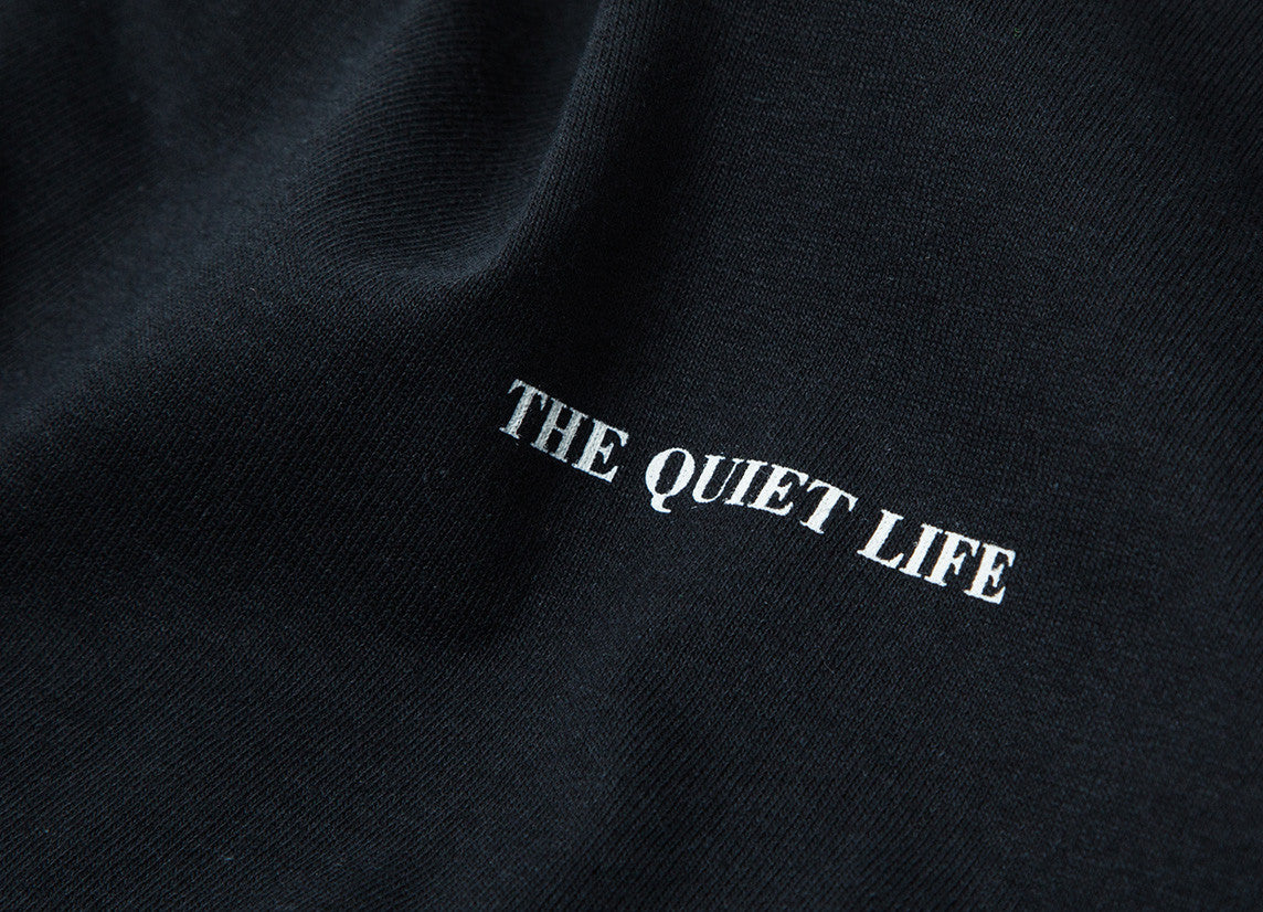 The Quiet Life Face Off Long Sleeve T Shirt - Black