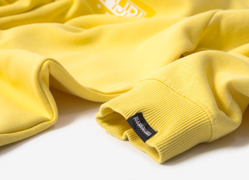 Napapijri Box C Sweatshirt - Sunshine Yellow