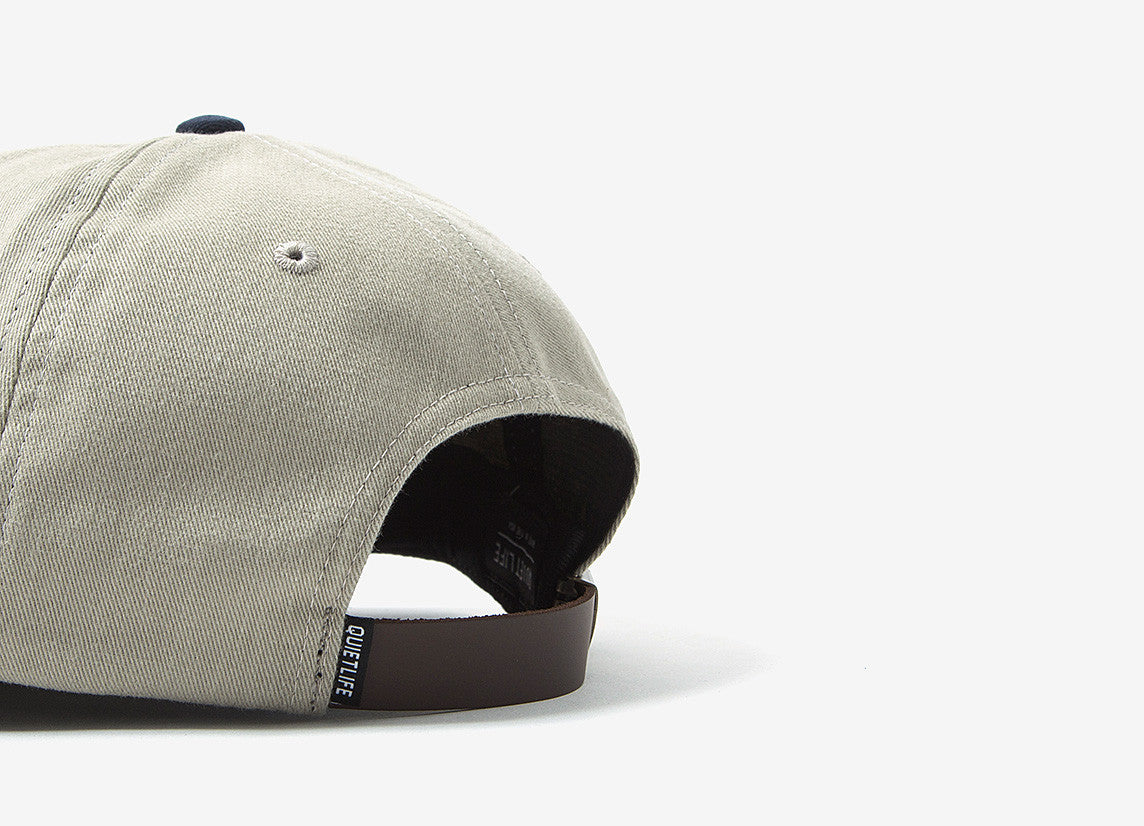 The Quiet Life Middle Of Nowhere Polo Cap - Tan/Navy