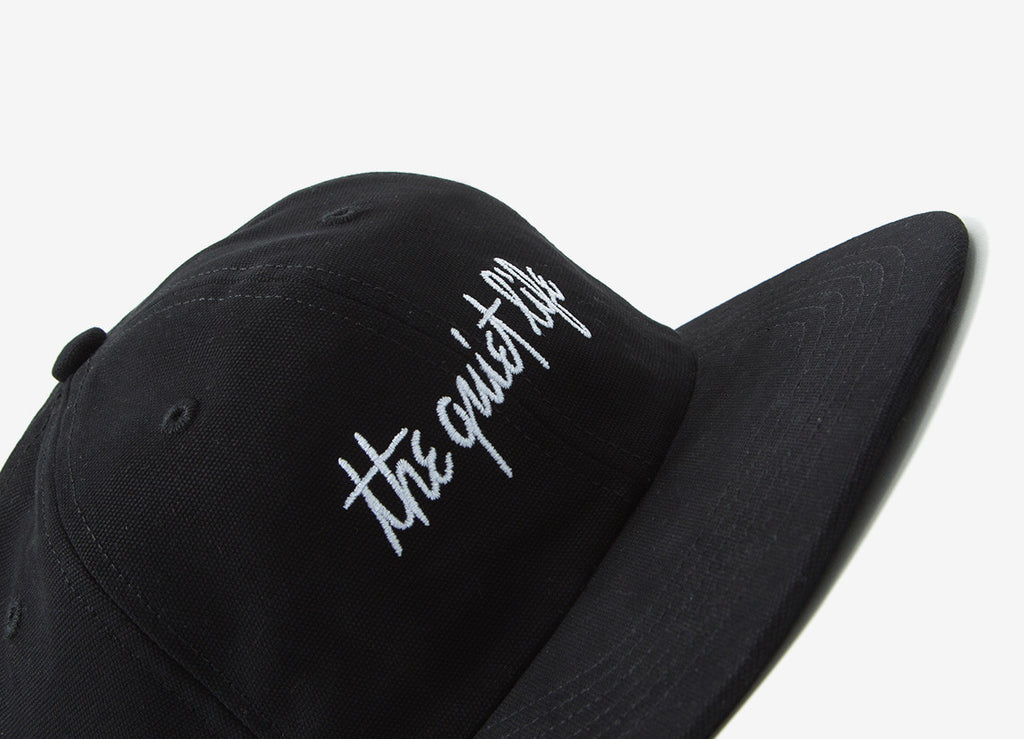 The Quiet Life Pen And Ink Polo Hat - Black