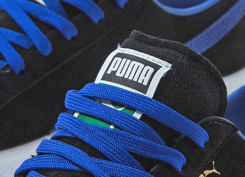PUMA Clyde OG Shoes - Black/Blue