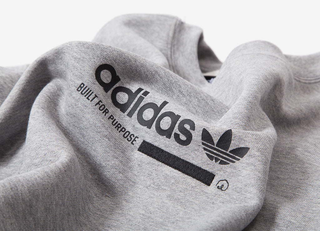 adidas Originals Kaval Crewneck Sweatshirt - Medium Grey