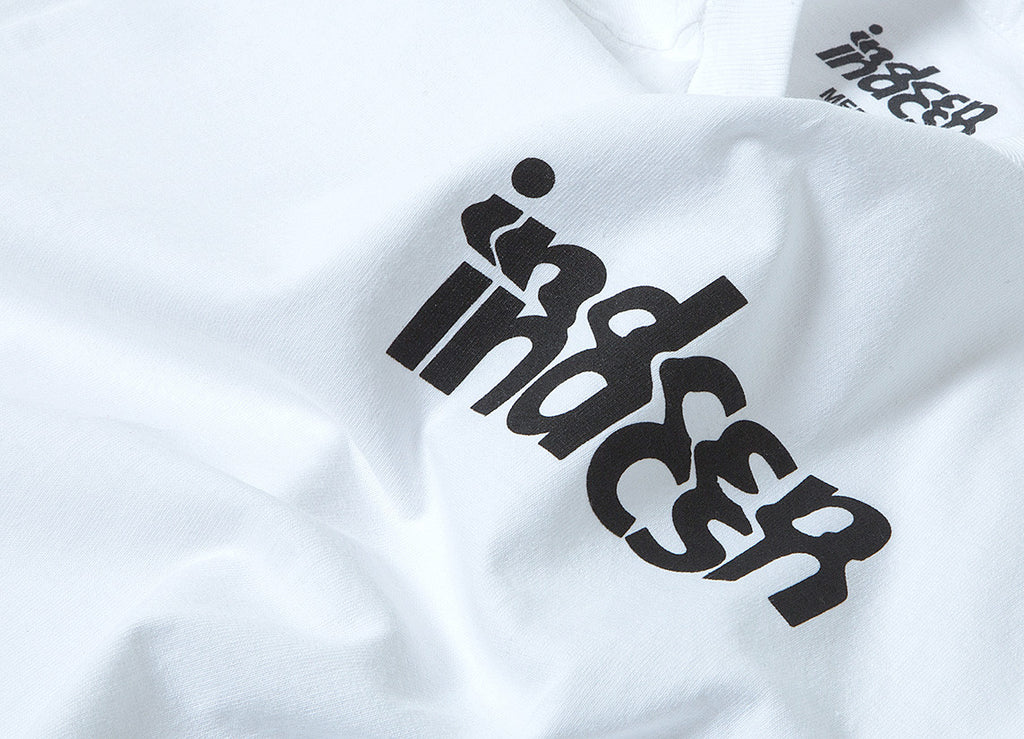 indcsn Distort T Shirt - White