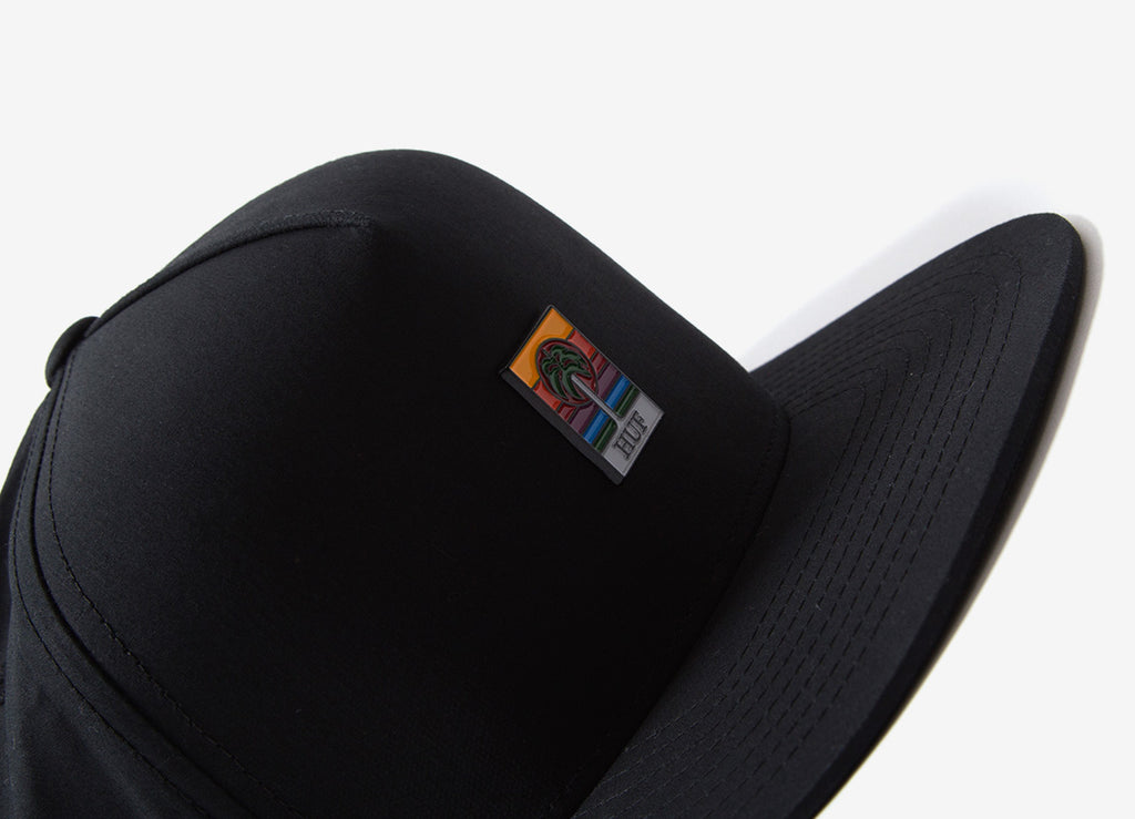 HUF Palm Snapback Cap - Black