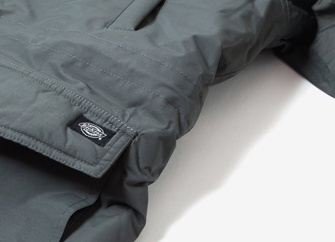 Dickies Curtis Parka Jacket - Charcoal Grey