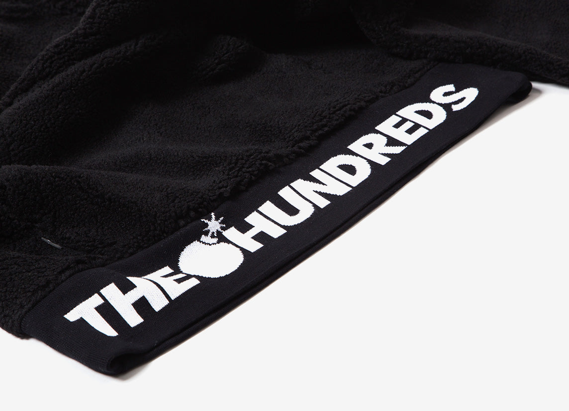 The Hundreds Nepal Half Zip Fleece Jacket - Black