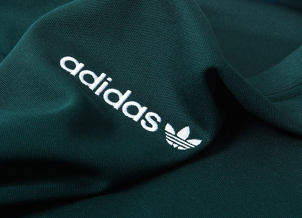 adidas Originals TNT Trefoil Tape T Shirt - Green Night/White