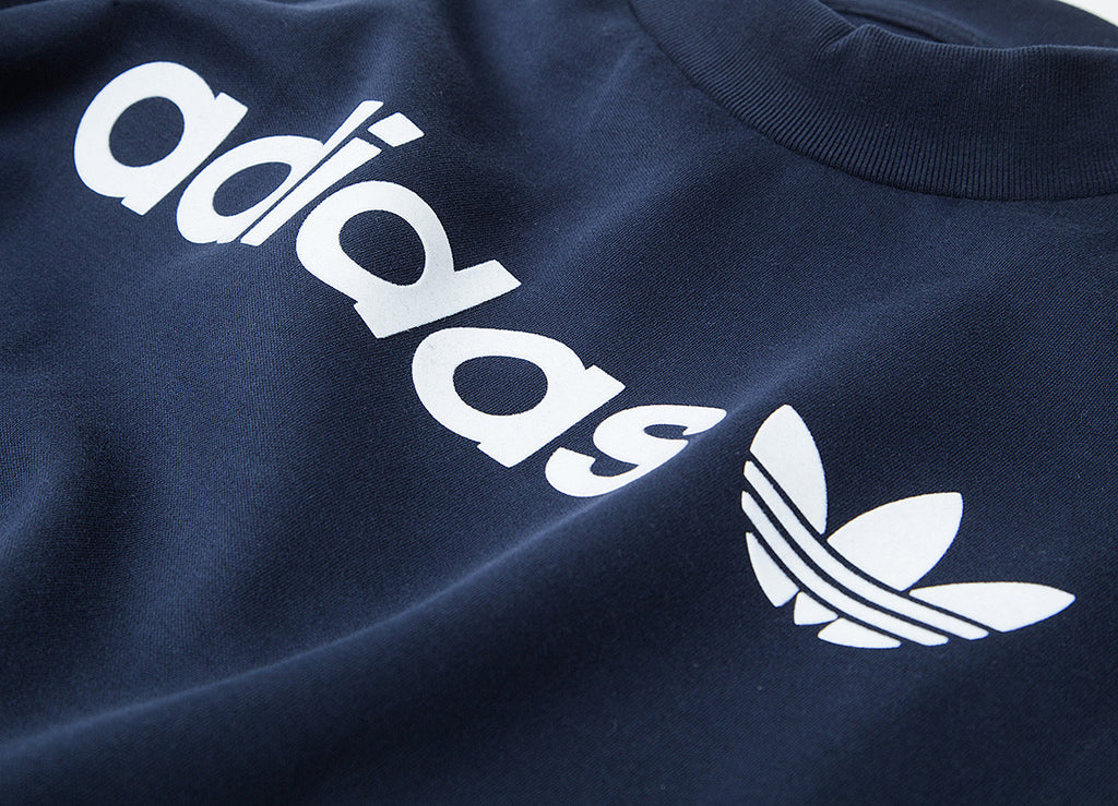 adidas Originals Linear Trefoil Sweatshirt - Legend Ink