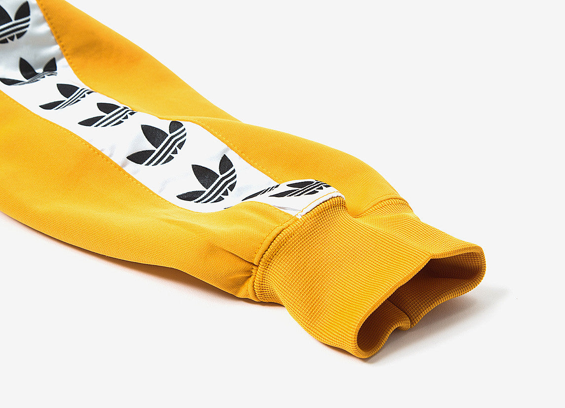 adidas Originals TNT Trefoil Tape Pullover Hoody - Yellow