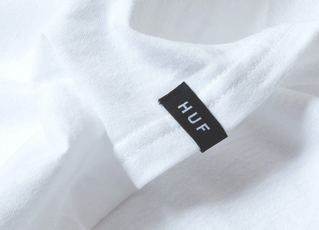 HUF Intersection T Shirt - White