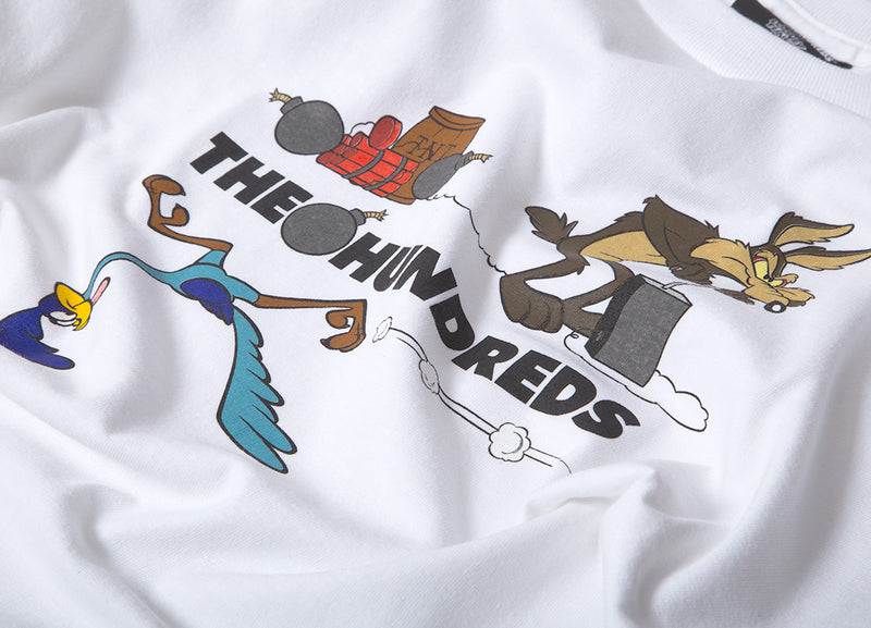 The Hundreds x Looney Tunes Acme TNT T Shirt - White
