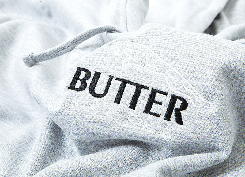 Butter Goods Racing Pullover Hoody - Heather