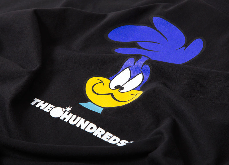 The Hundreds x Looney Tunes Road T Shirt - Black