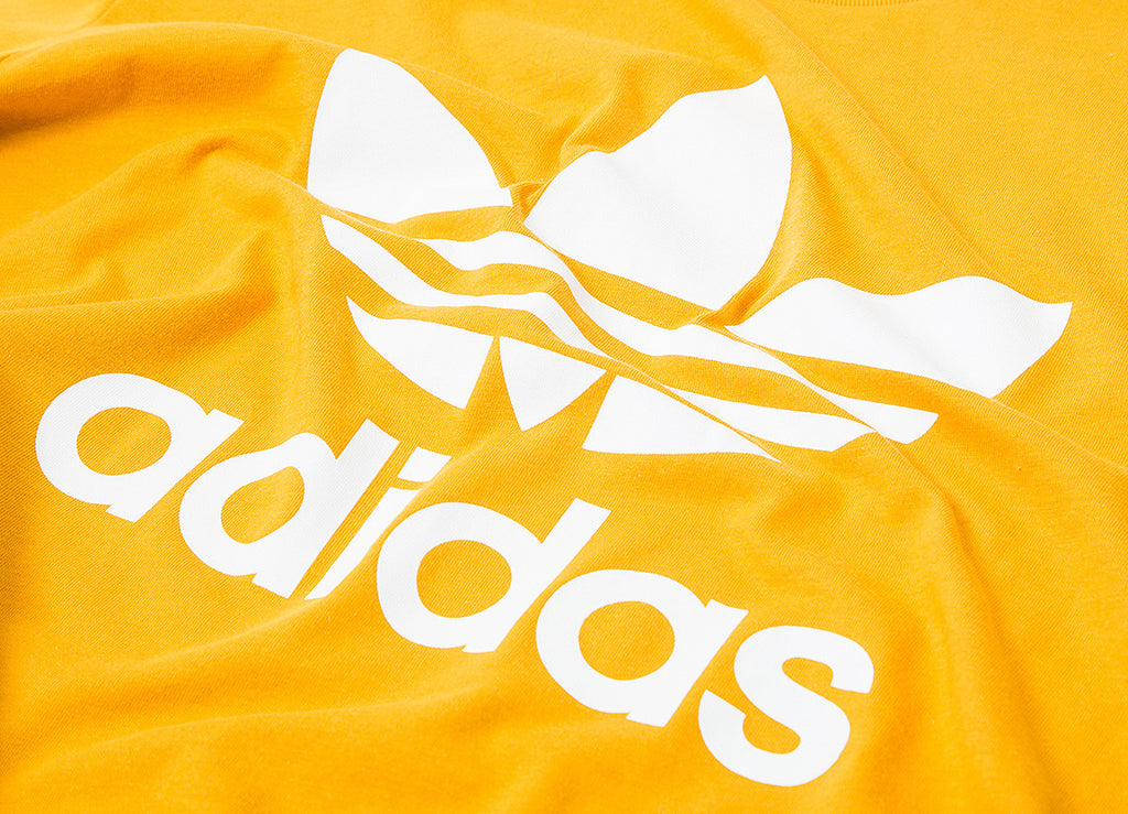 adidas Originals Trefoil T Shirt - Tactile Yellow