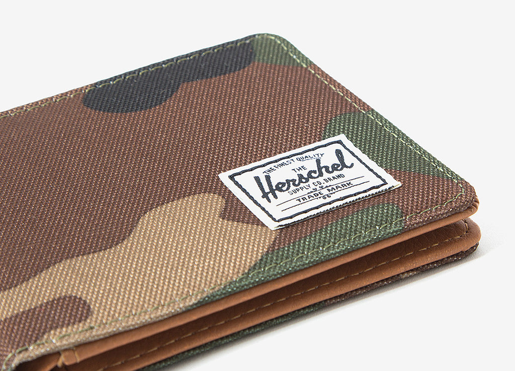 Herschel Supply Co Hank Wallet - Woodland Camo