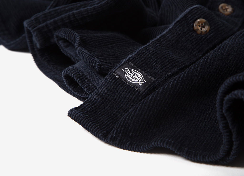 Dickies Arthurdale Cord Shirt - Dark Navy