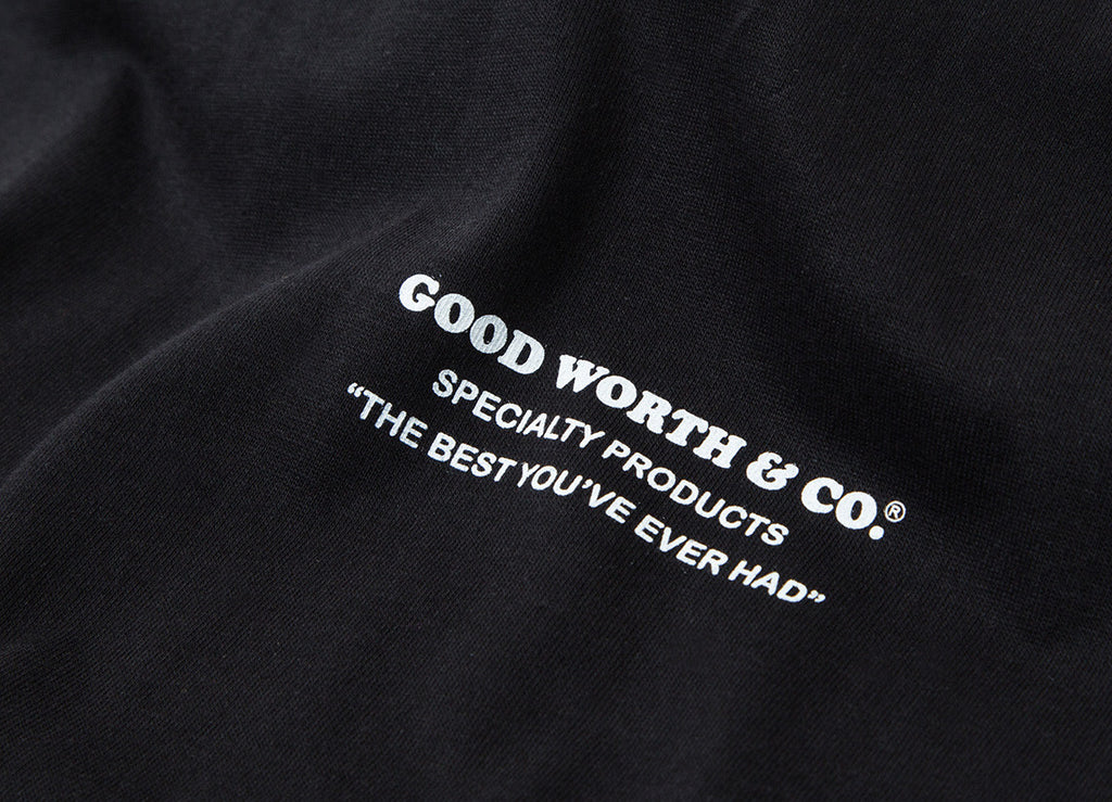Good Worth & Co Stamp T Shirt - Black
