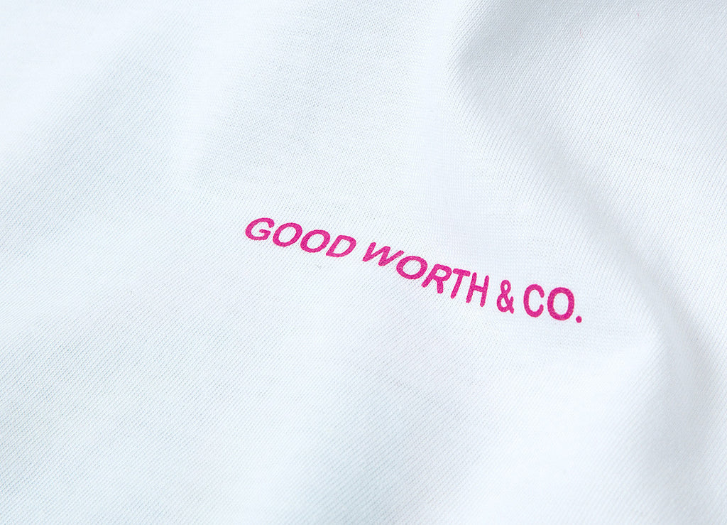 Good Worth & Co Mosaic T Shirt - White