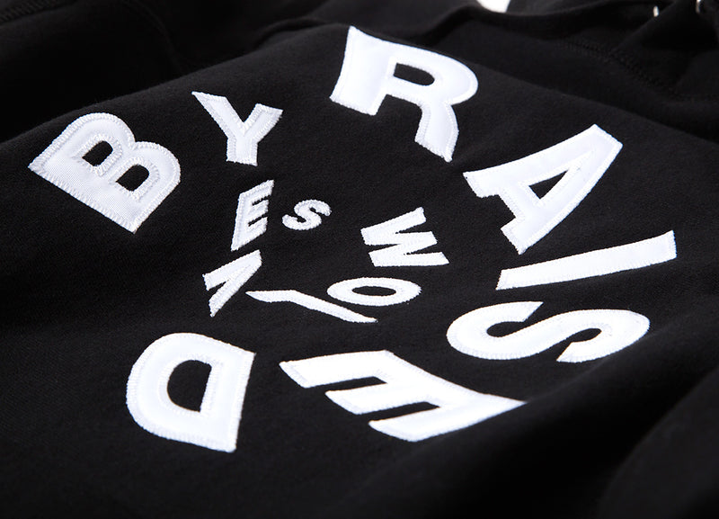 Raised By Wolves Twister Pullover Hoody - Black