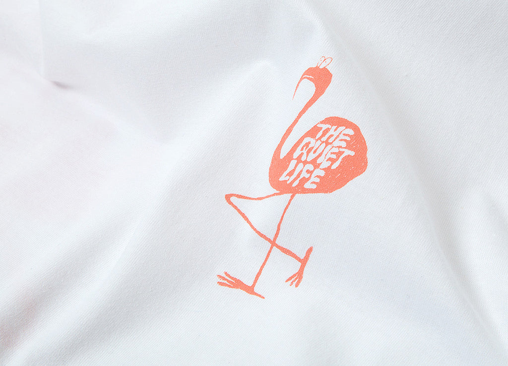 The Quiet Life Flamingo T Shirt - White