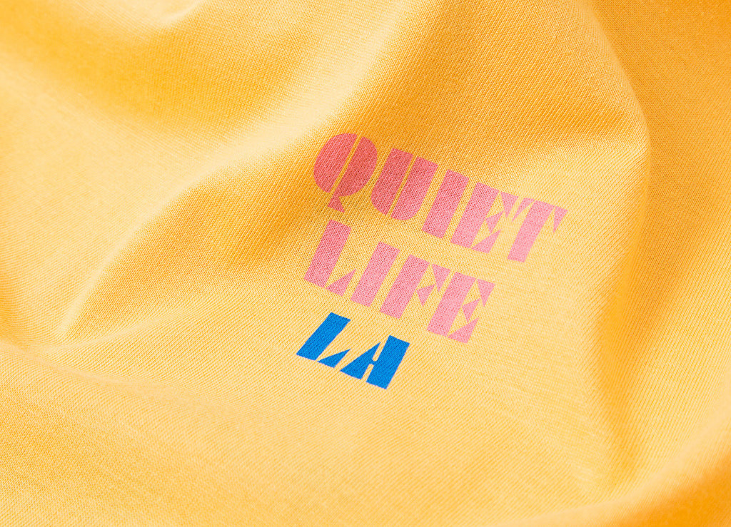 The Quiet Life Zone T Shirt - Squash