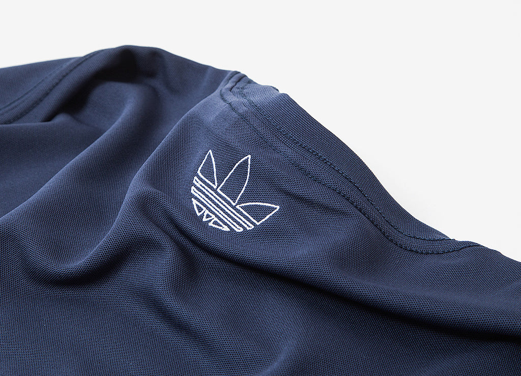 adidas Originals TNT Trefoil Tape T Shirt - Trace Blue
