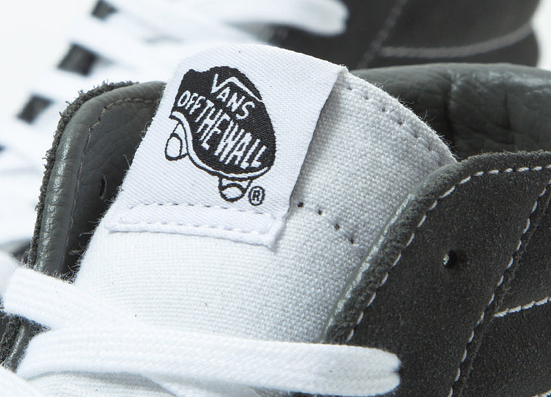 Vans Sk8-Hi Reissue Shoes - (Retro Sport) Gunmetal