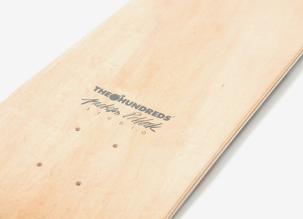 The Hundreds x Jackson Pollock Skateboard Deck - Multi