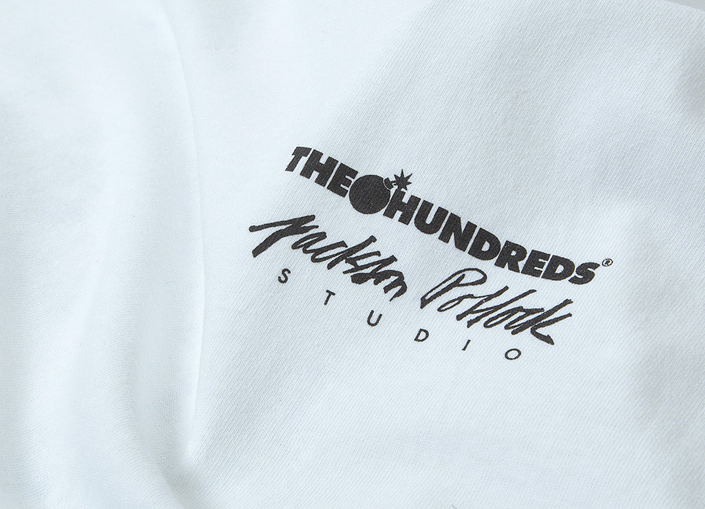 The Hundreds x Jackson Pollock Adam Fill T Shirt - White