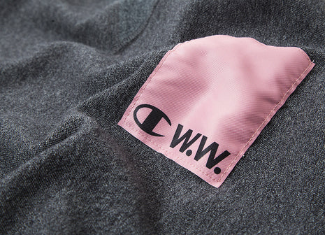 Champion x Wood Wood Hugo Sweatshirt - Black Melange