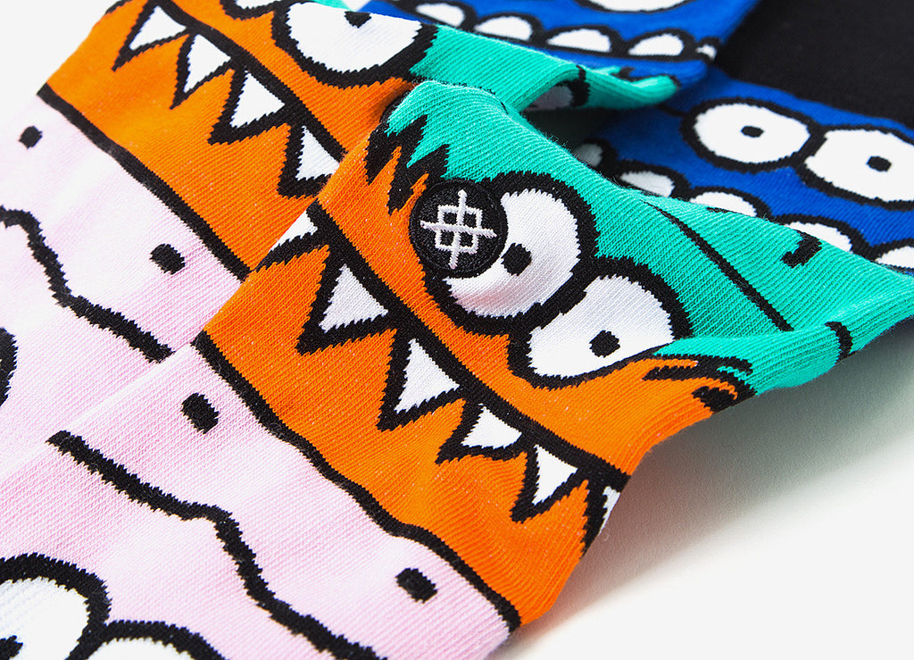 Stance x Kevin Lyons Monster Mash Socks - Allover