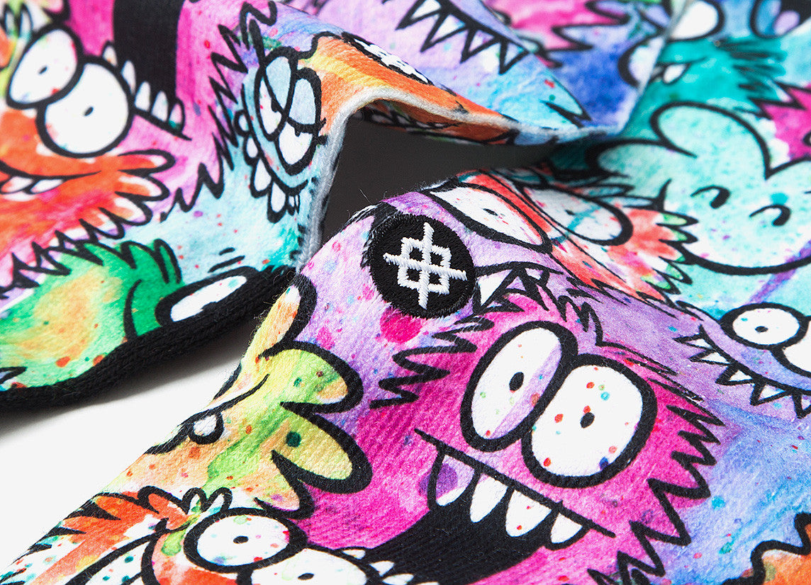 Stance x Kevin Lyons Monster Party Socks - Allover