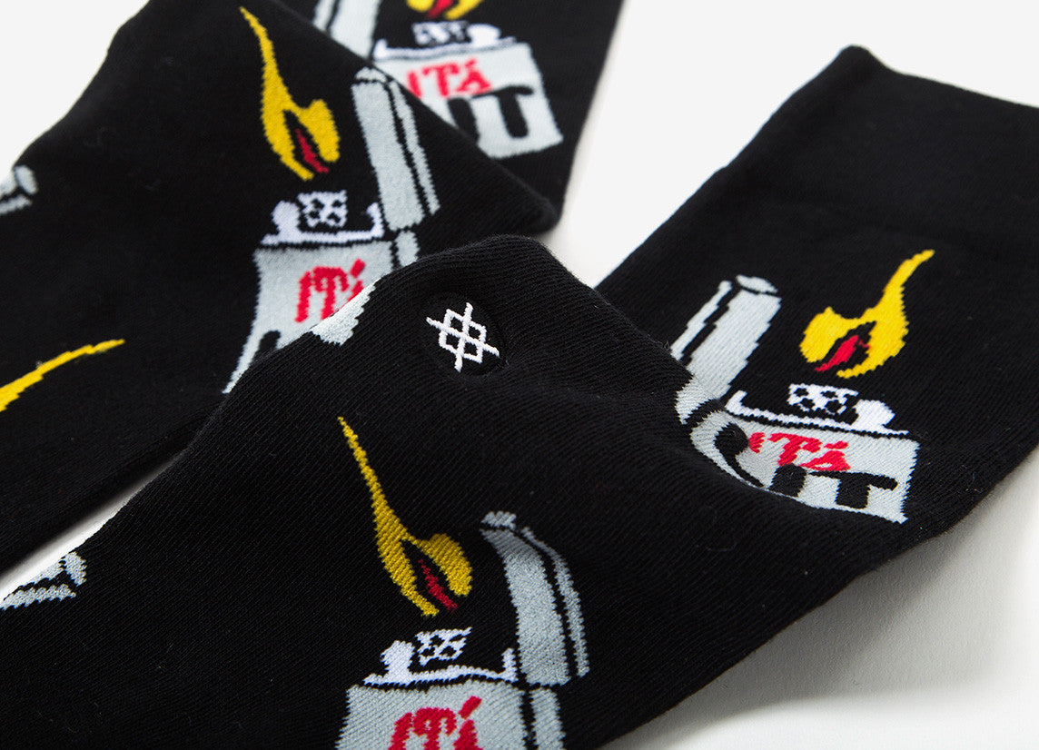 Stance It's Lit Socks - Black