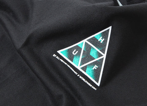 HUF Premiere Triple Triangle T Shirt - Black