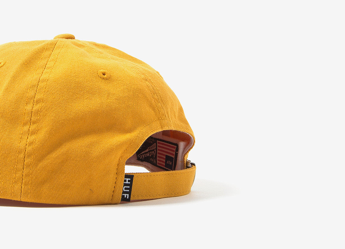 HUF Overdye 6 Panel Cap - Gold