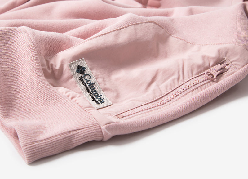 Columbia Bugasweat Crewneck Sweatshirt - Dusty Pink