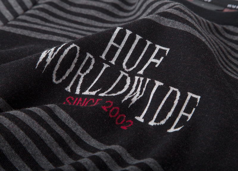 HUF Void Knit T-Shirt - Black