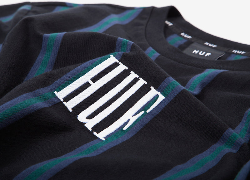 HUF Adios Long Sleeve Shirt - Black
