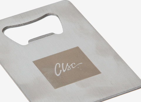 CLSC Box Logo Bottle Opener - Silver