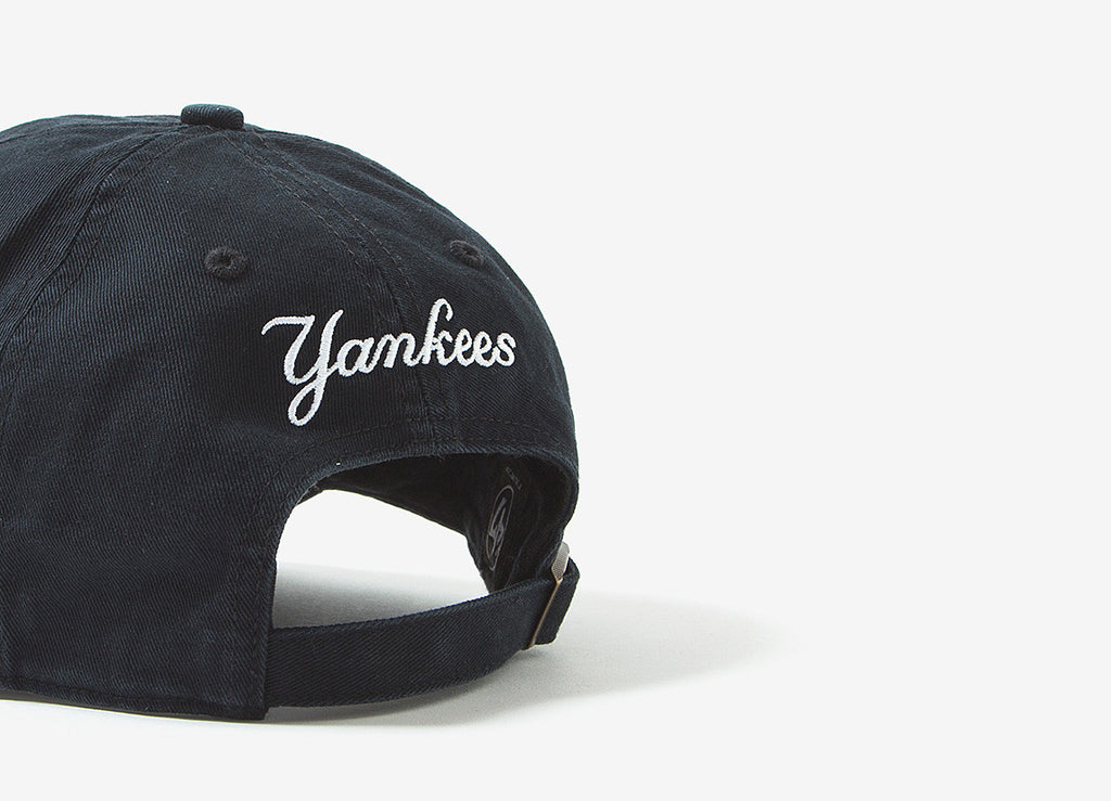 47 Brand MLB Centrefield New York Yankees 6 Panel Cap - Black