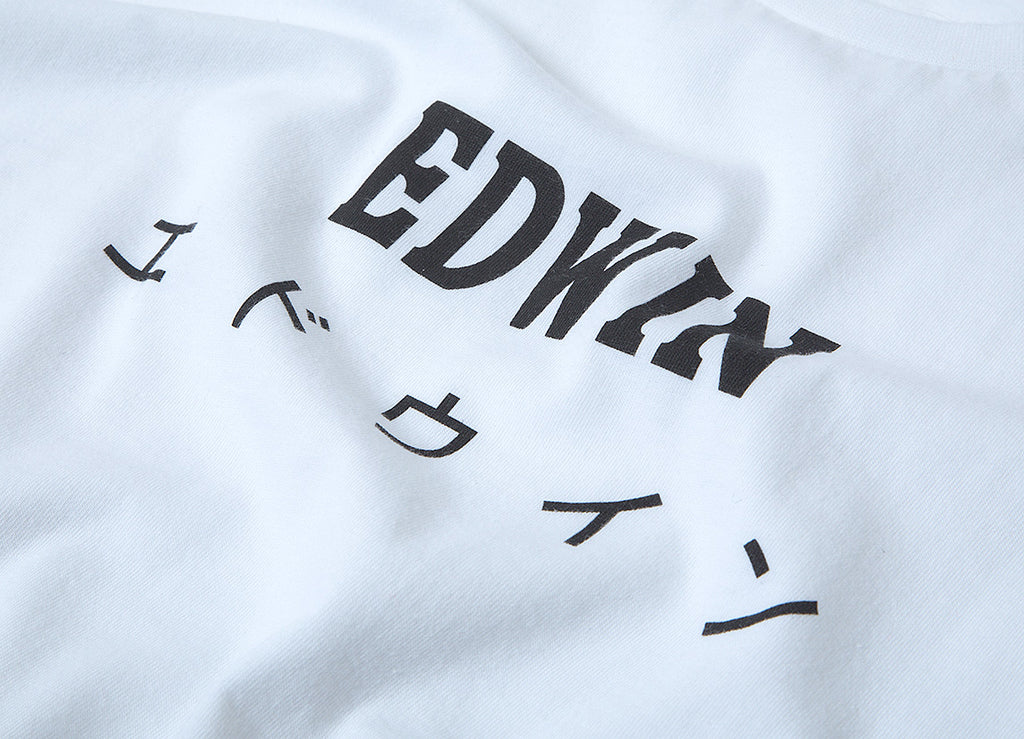 Edwin Japan T Shirt - White