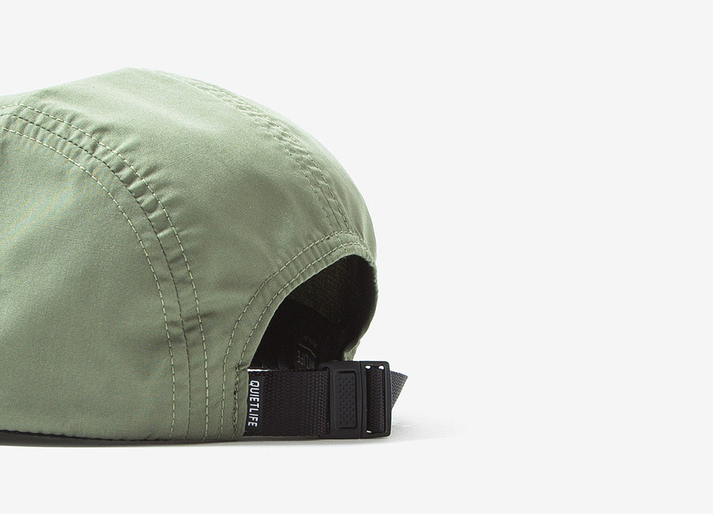 The Quiet Life Wont Stop 5 Panel Cap - Olive