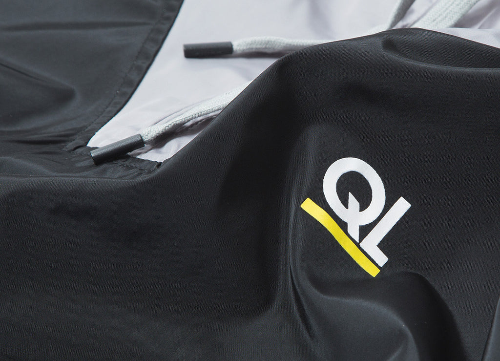 The Quiet Life Periodic Pullover Jacket - Black/White