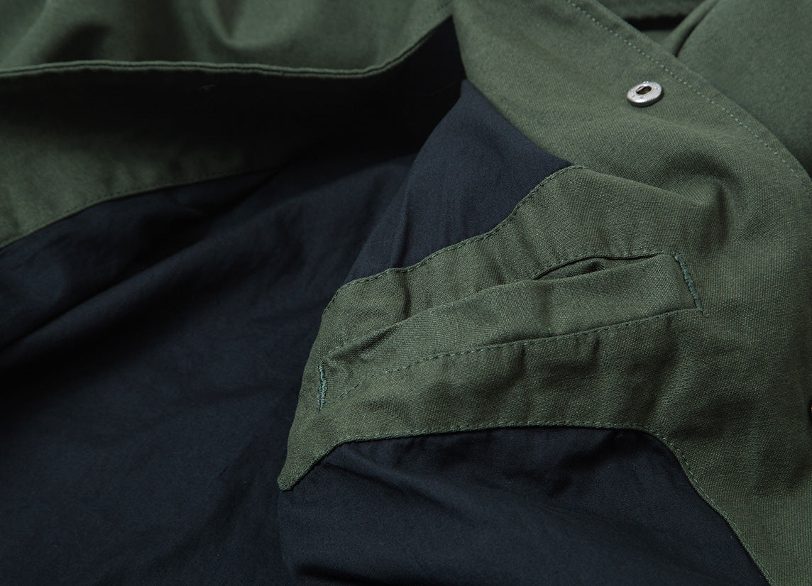 Brixton Wright Jacket - Forest Green